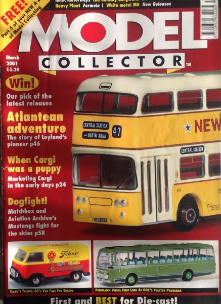 ORIGINAL MODEL COLLECTOR MAGAZINE March 2001